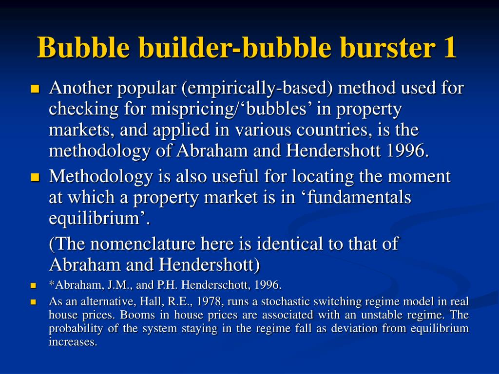 Bubble builder-bubble burster 1
