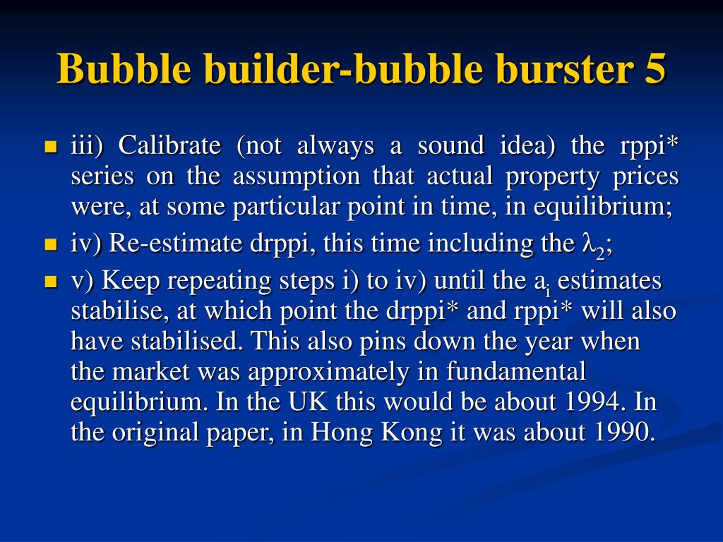 Bubble builder-bubble burster 5