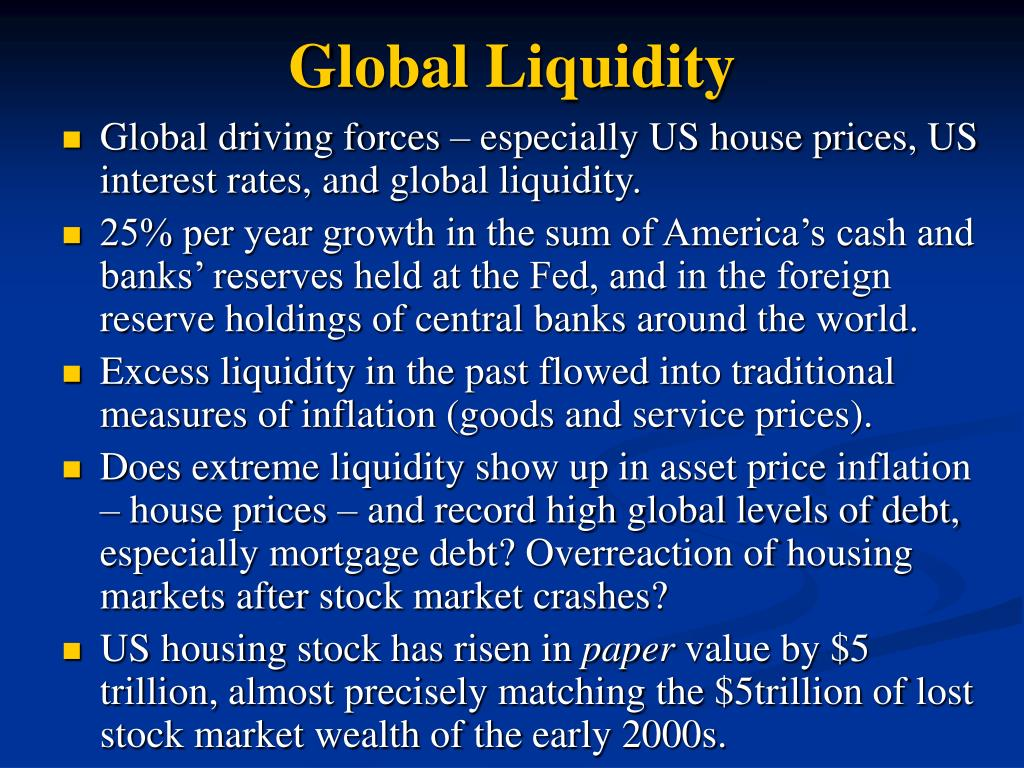 Global Liquidity