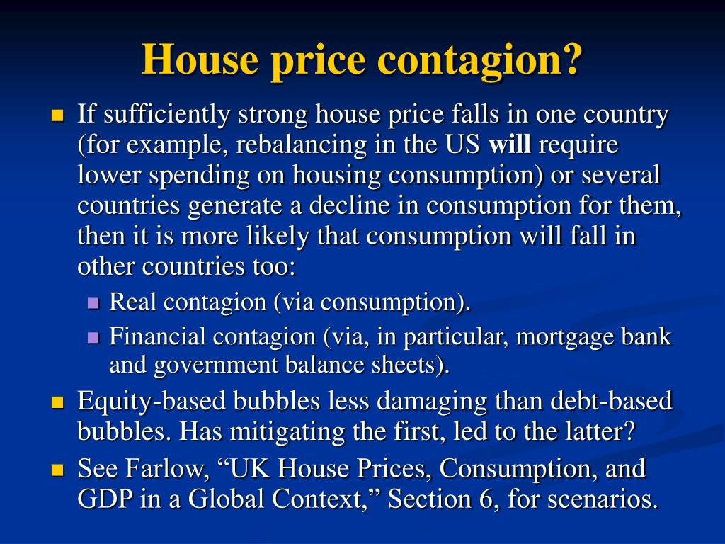 House price contagion?