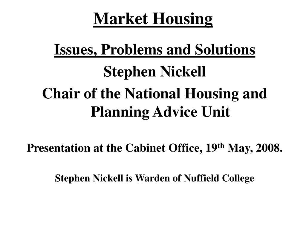 market housing