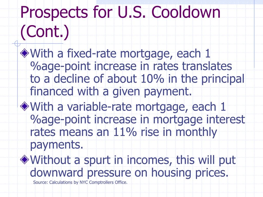 Prospects for U.S. Cooldown (Cont.)