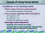 causes of rising house prices10