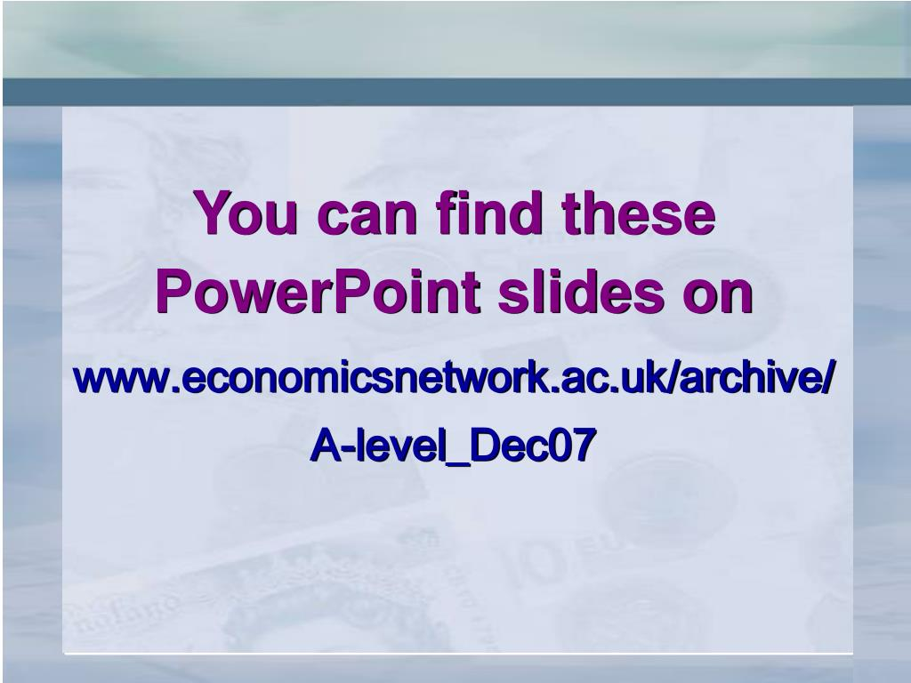 You can find these PowerPoint slides on