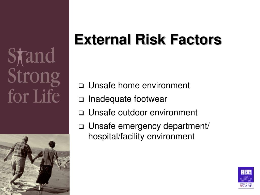 External Risk Factors