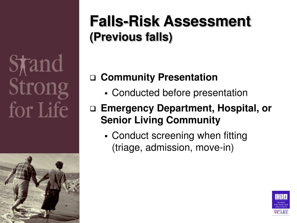 Falls-Risk Assessment
