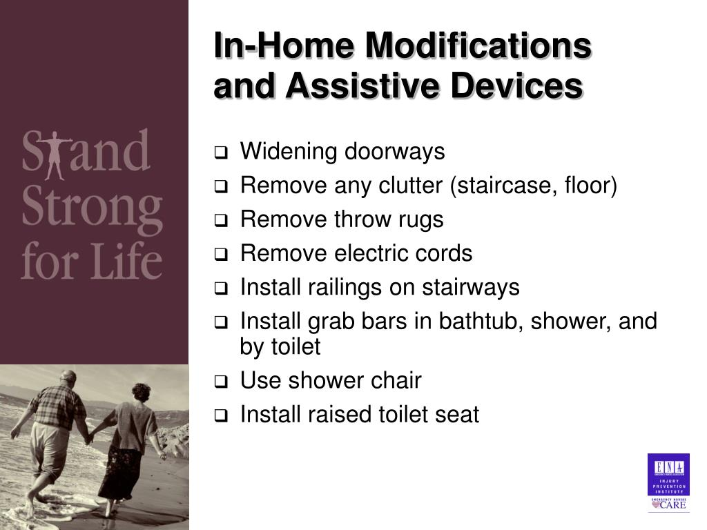 In-Home Modifications and Assistive Devices
