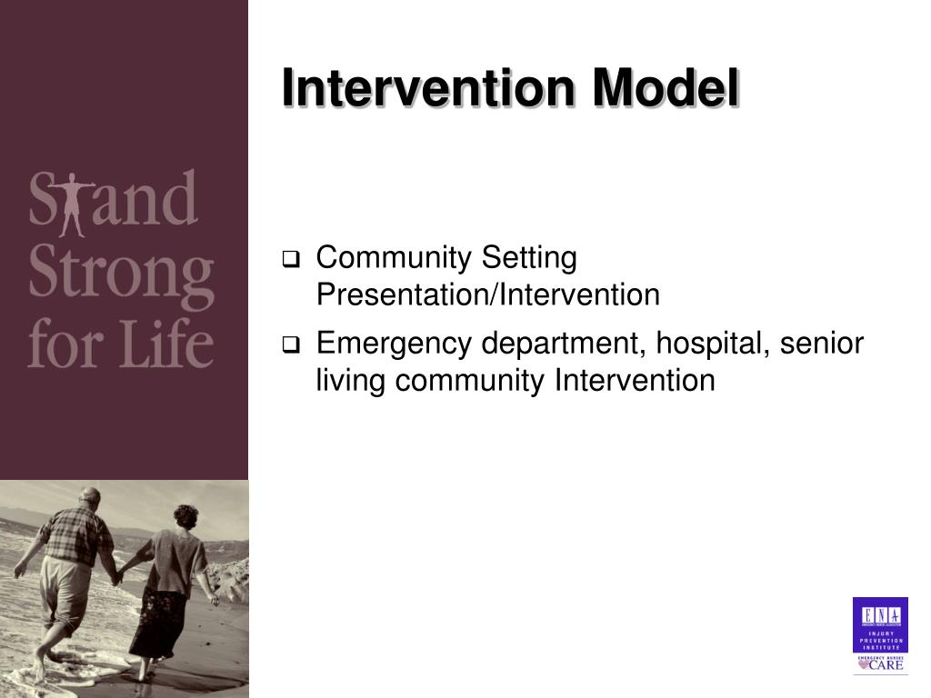 Intervention Model