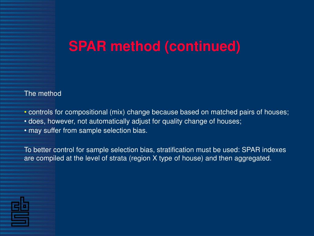SPAR method (continued)