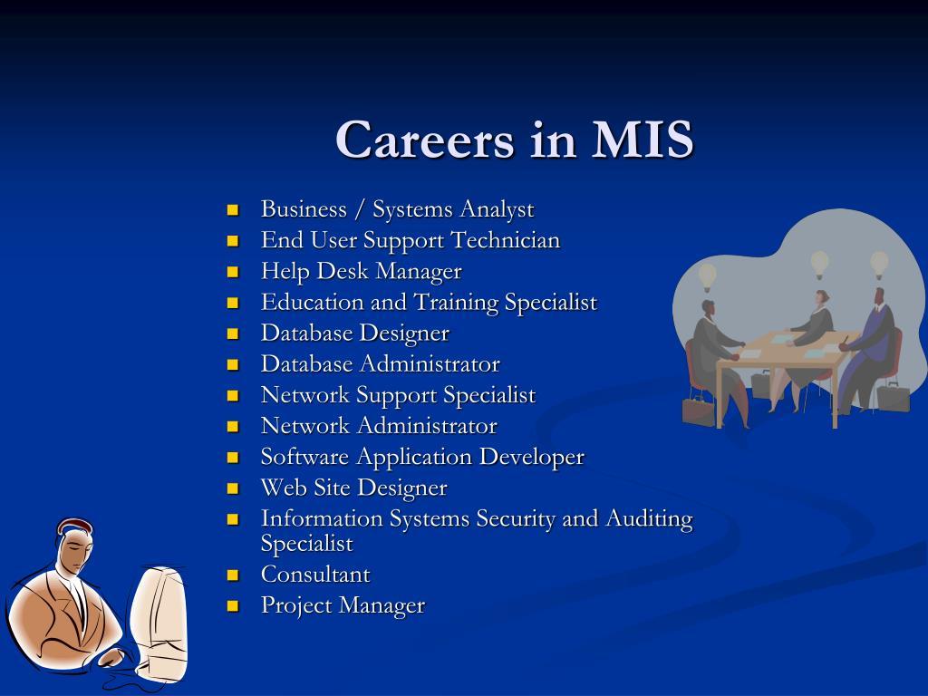 Careers in MIS