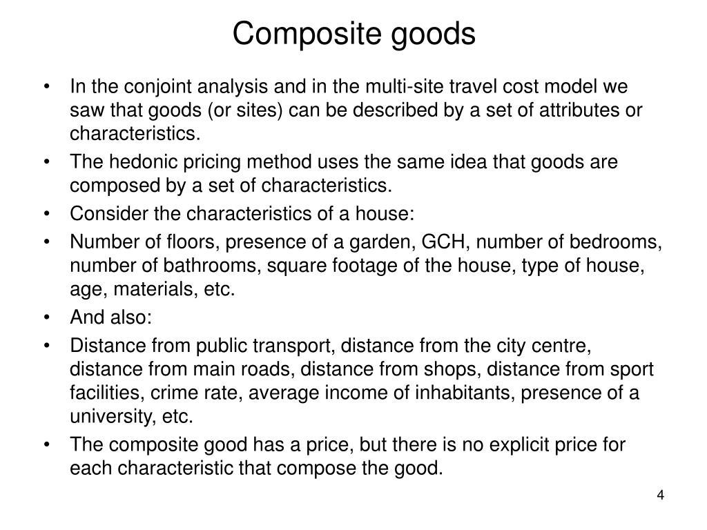 Composite goods
