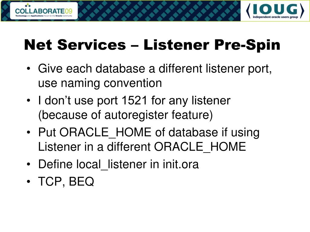 Net Services – Listener Pre-Spin
