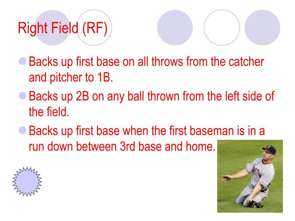 Right Field (RF)