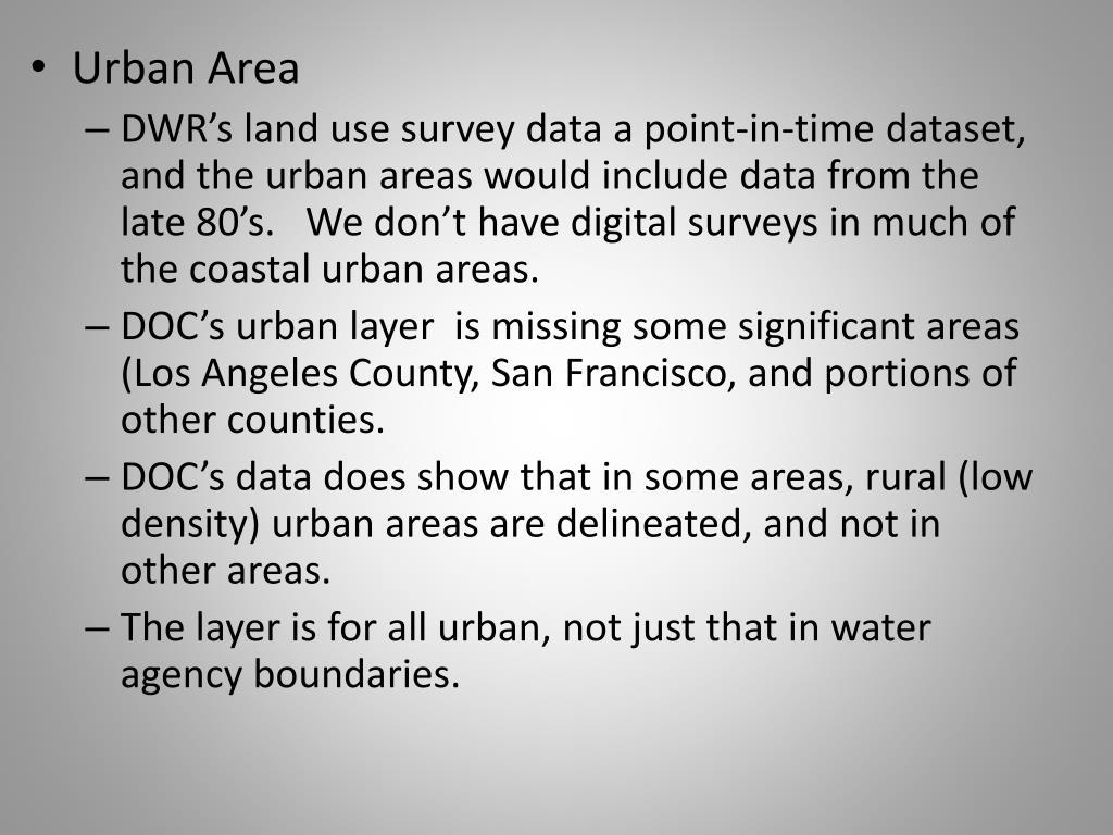 Urban Area