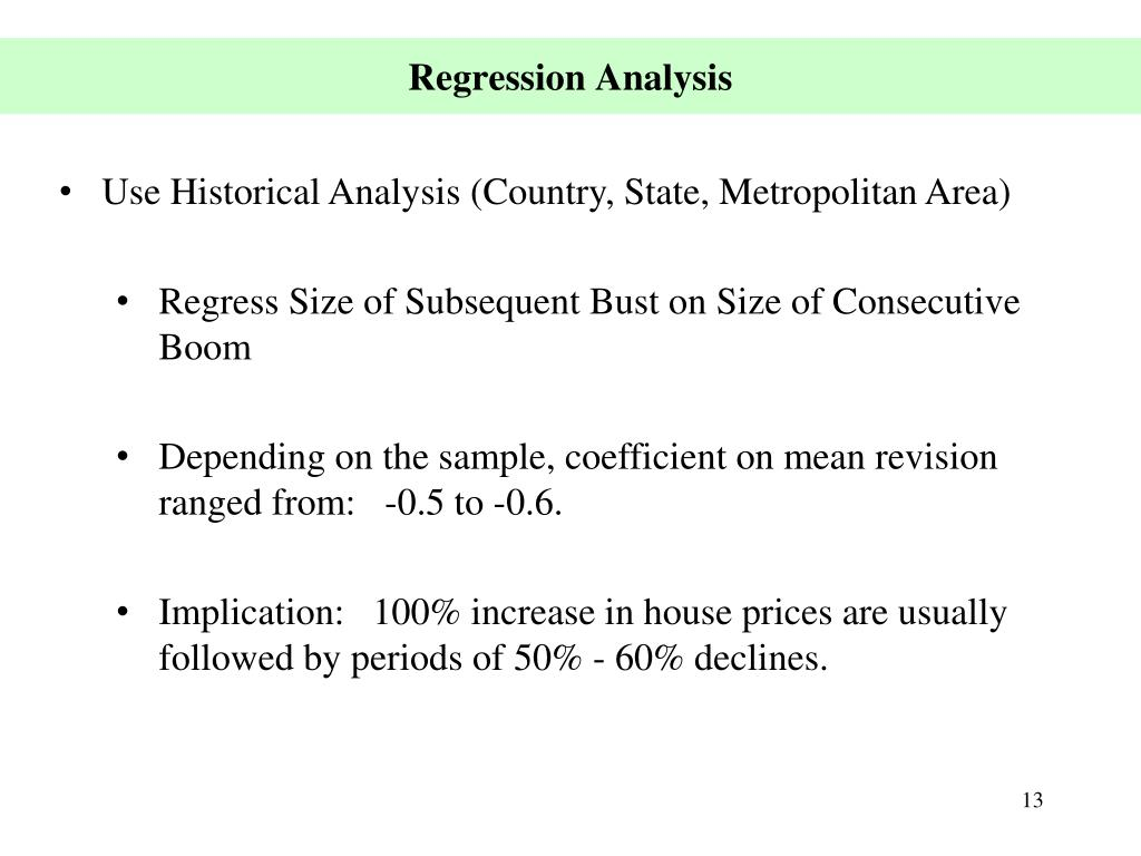 Use Historical Analysis (Country, State, Metropolitan Area)