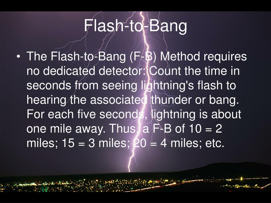 Flash-to-Bang