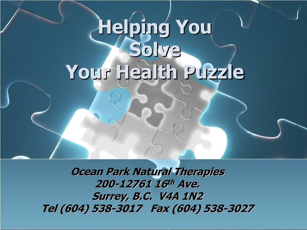 Ocean Park Natural Therapies
