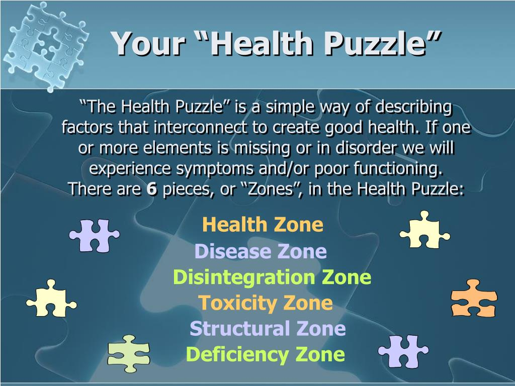 "Your ""Health Puzzle"""