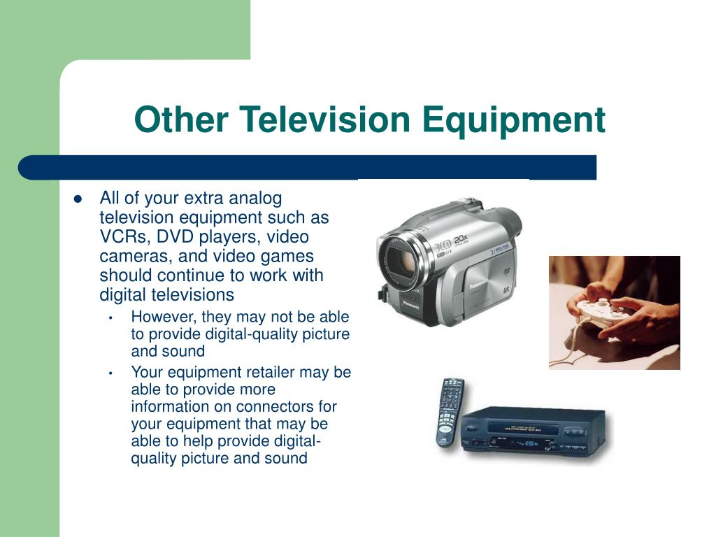 Other Television Equipment