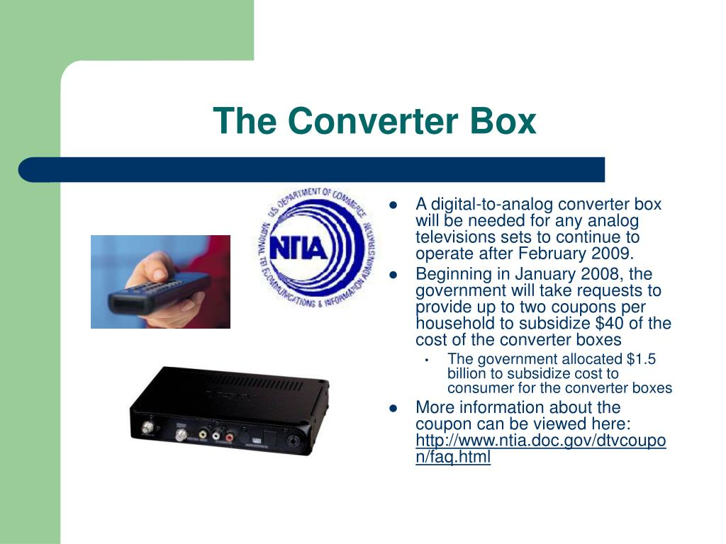 The Converter Box