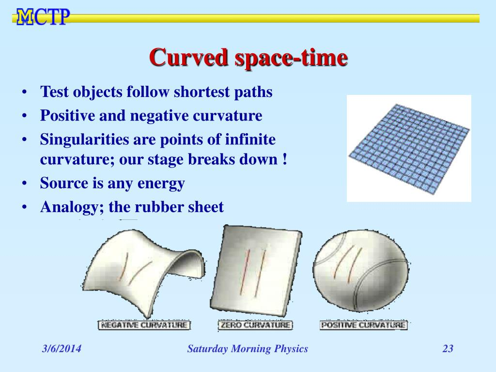 Curved space-time