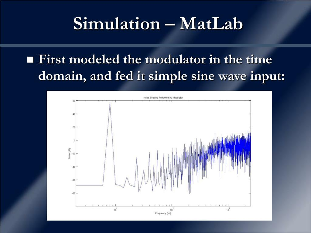 Simulation – MatLab
