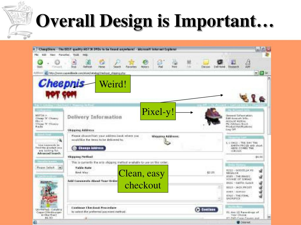 Overall Design is Important…