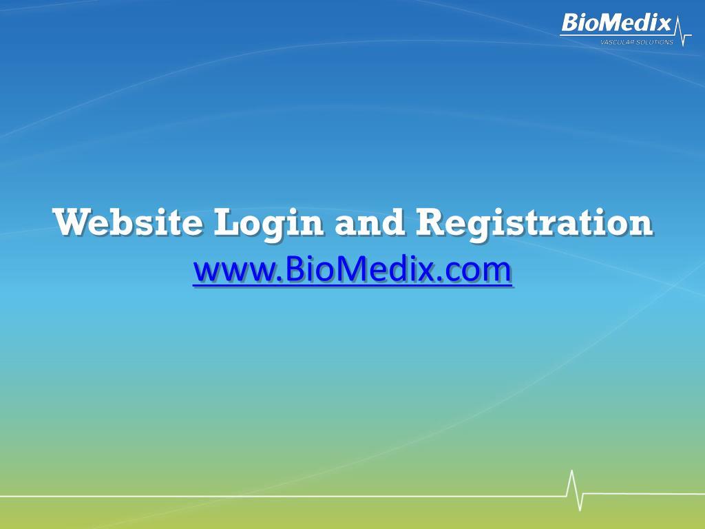 Website Login and Registration