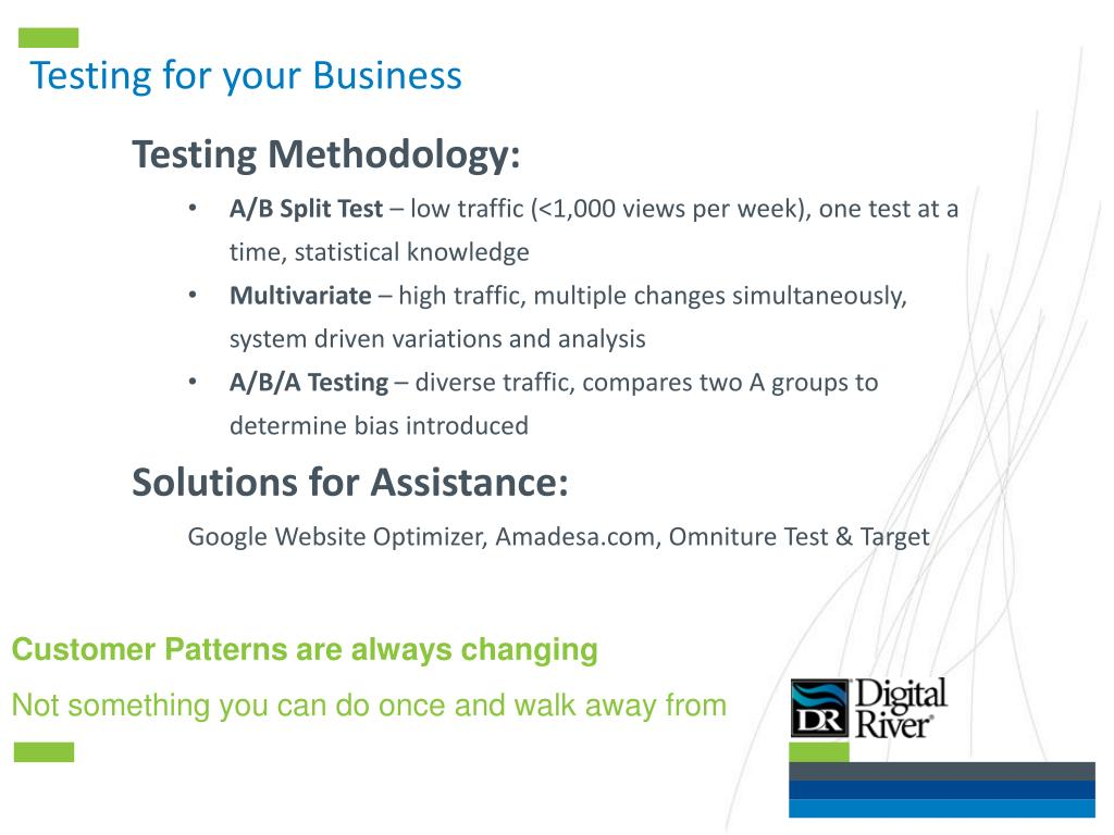 Testing for your Business