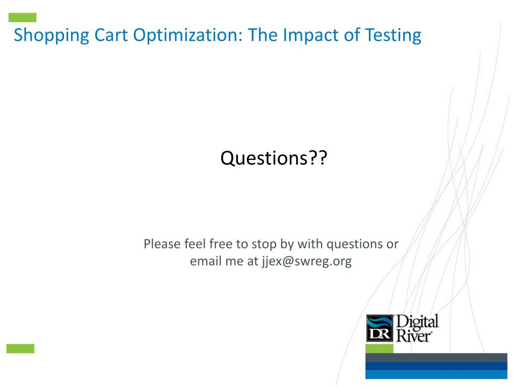 Shopping Cart Optimization: The Impact of Testing