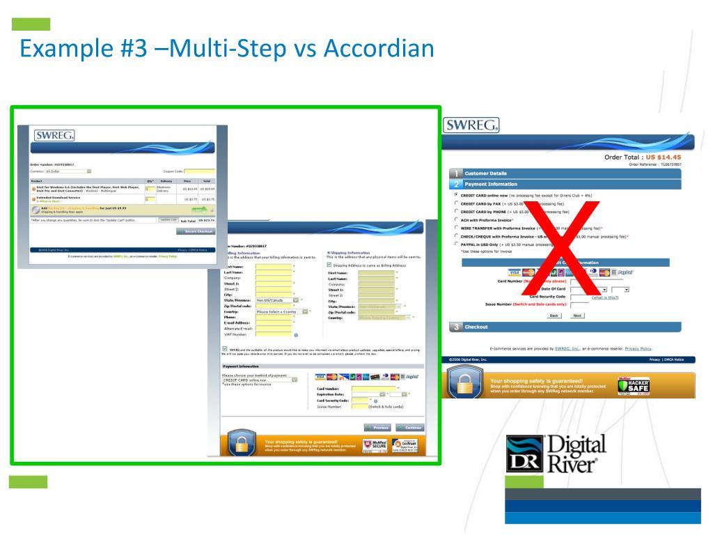 Example #3 –Multi-Step