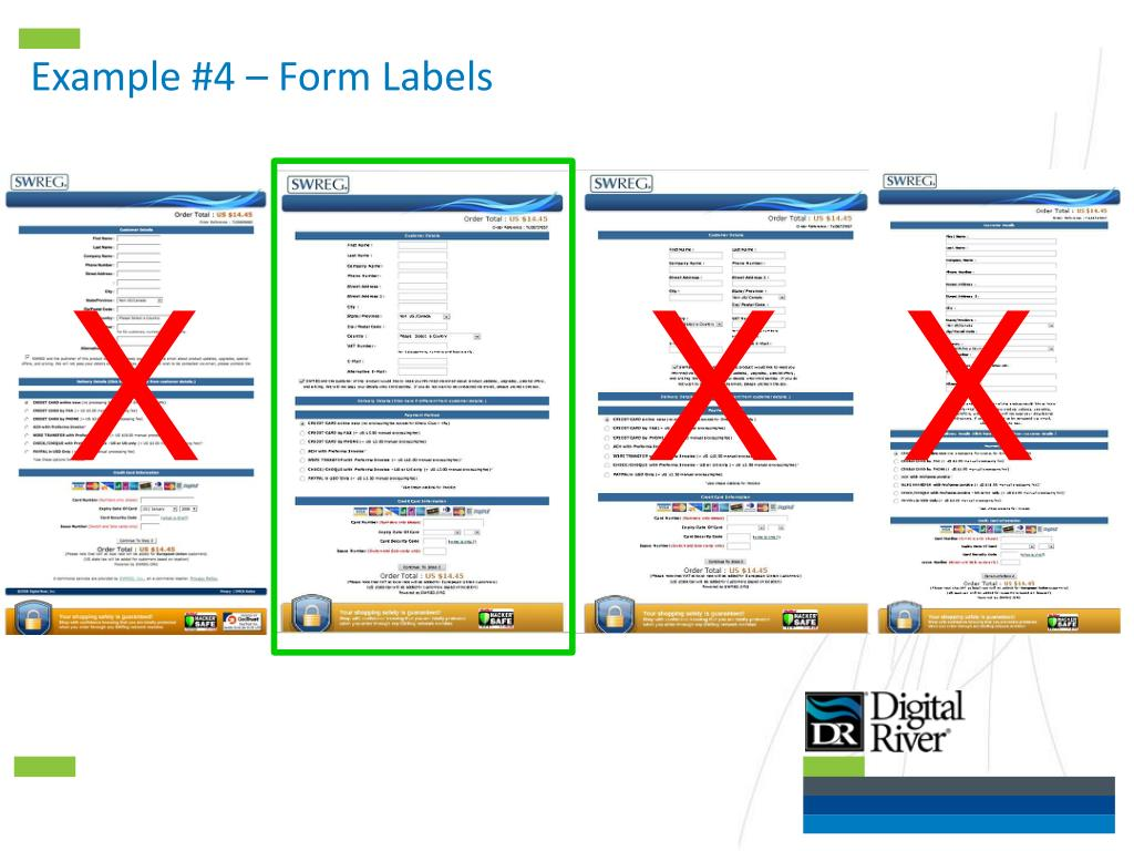 Example #4 – Form Labels