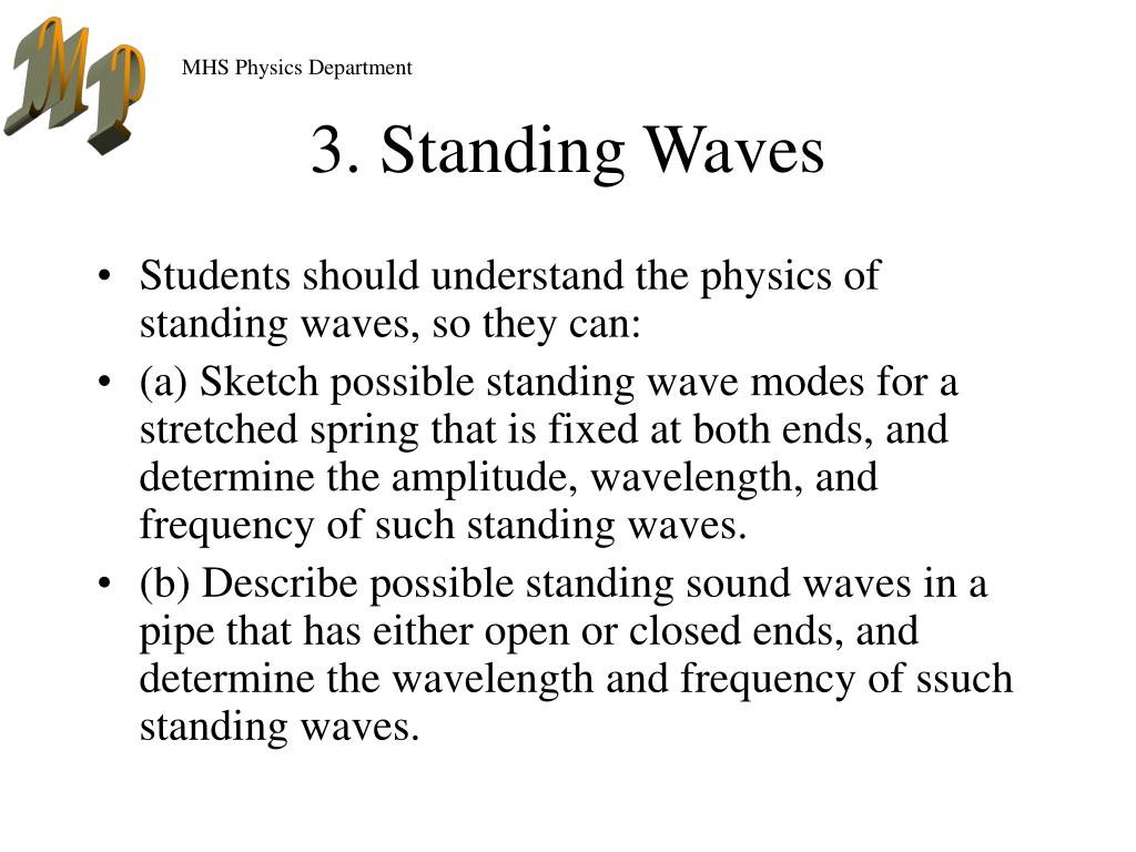 3. Standing Waves
