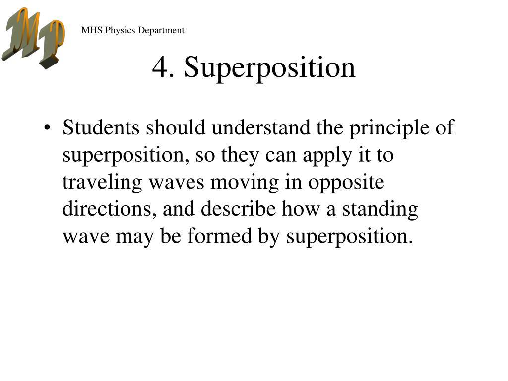 4. Superposition