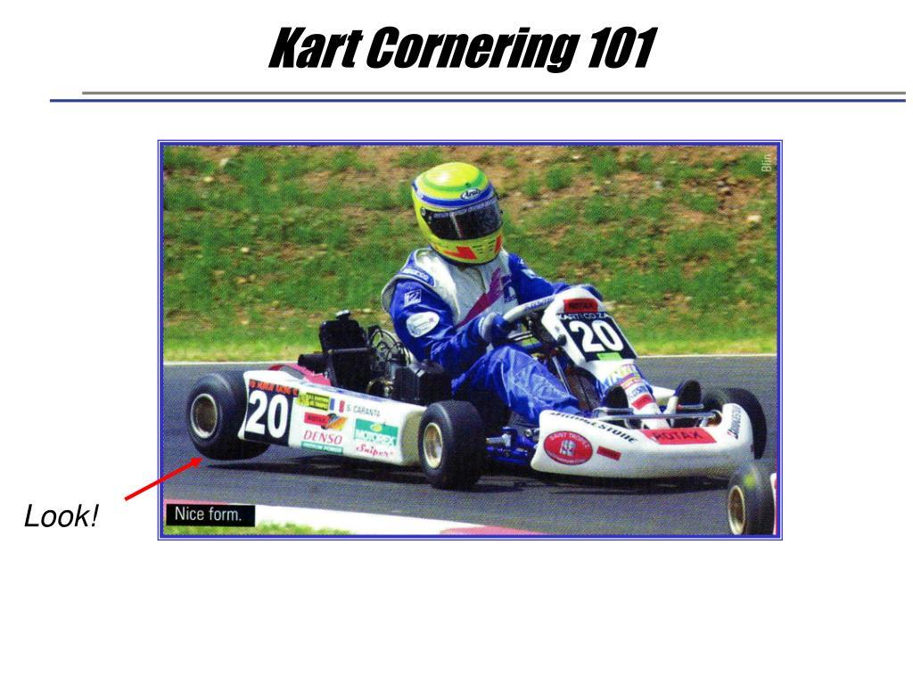 Kart Cornering 101
