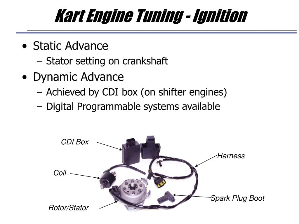 Kart Engine Tuning - Ignition