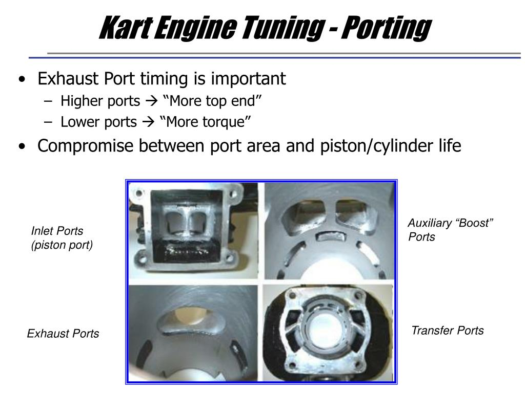 Kart Engine Tuning - Porting