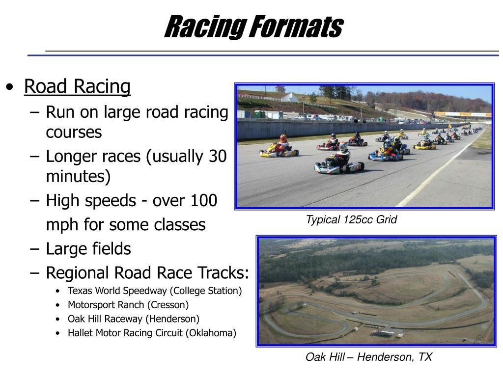 Racing Formats