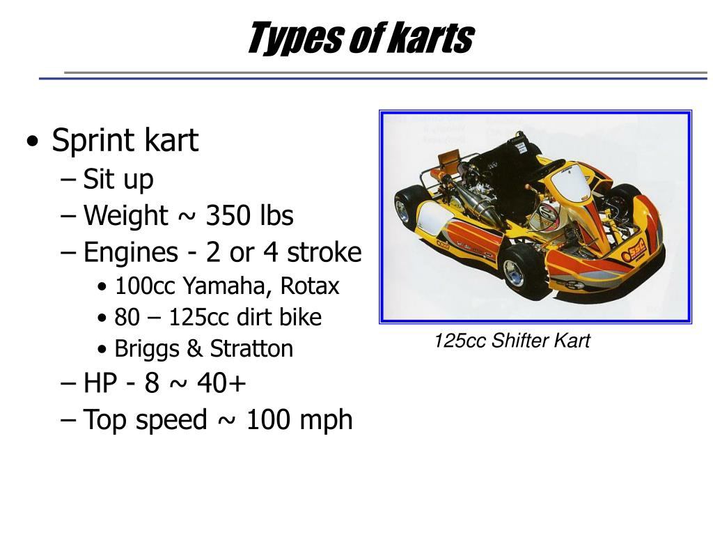 Types of karts