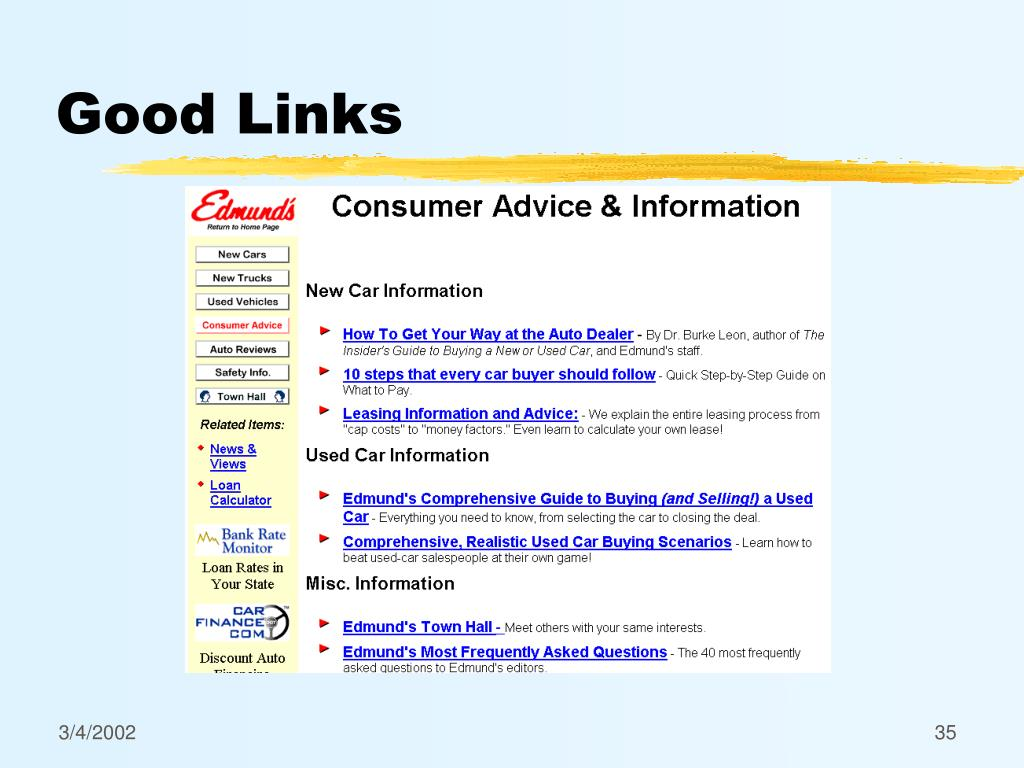 Good Links
