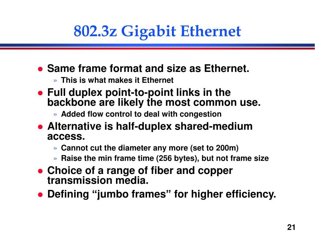 802.3z Gigabit Ethernet