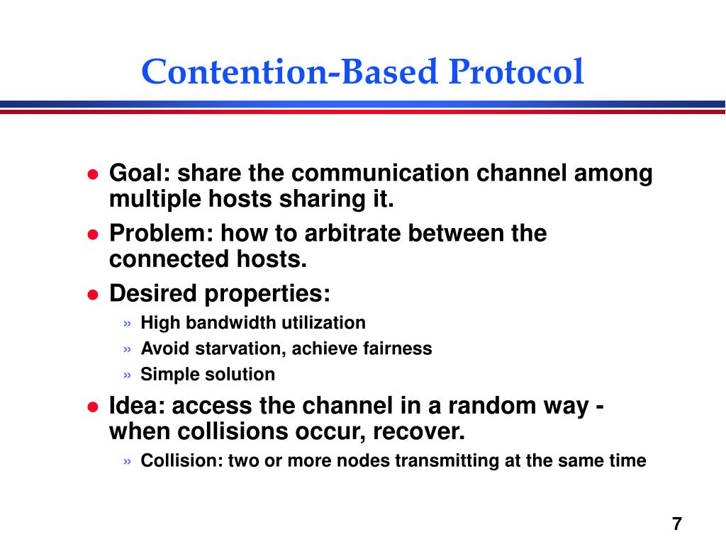 Contention-Based Protocol