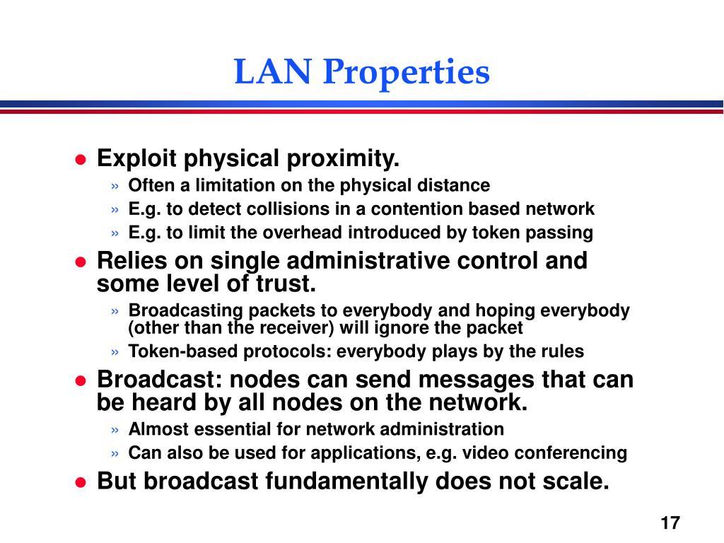 LAN Properties