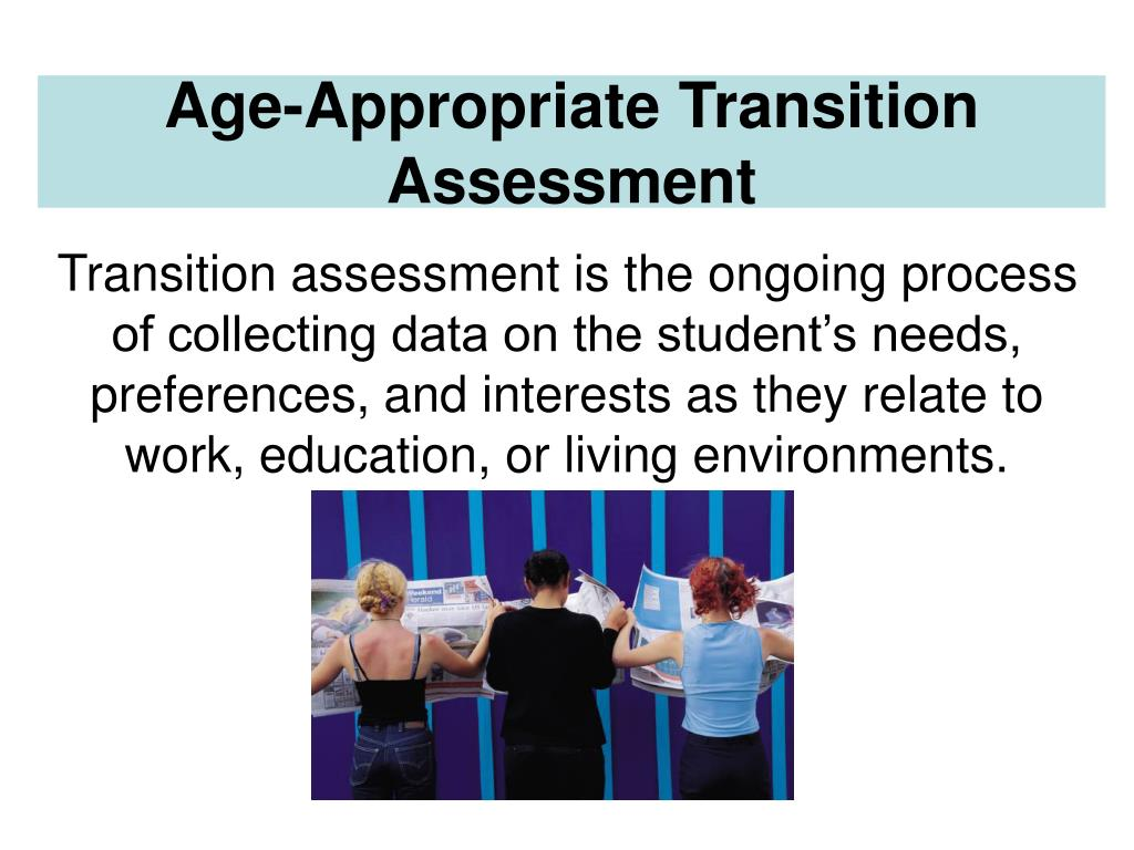 Age-Appropriate Transition Assessment