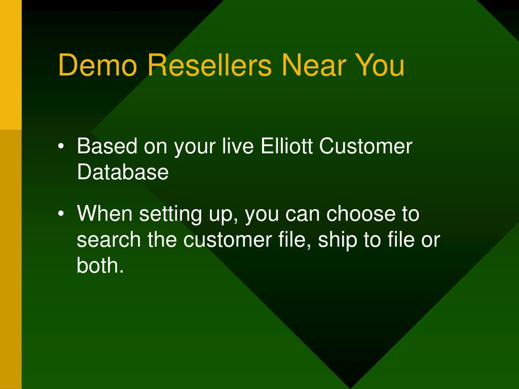 Demo Resellers Near You