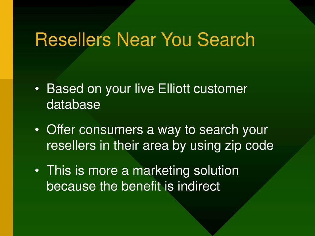 Resellers Near You Search