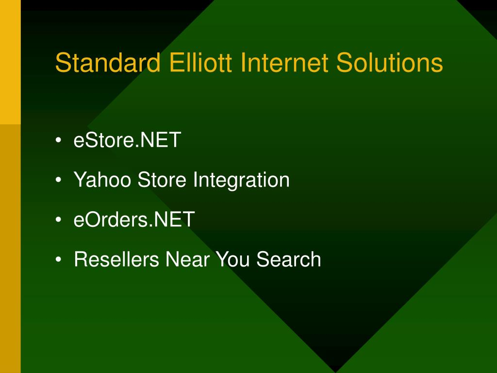 Standard Elliott Internet Solutions