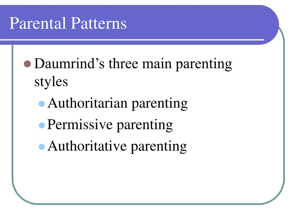 parenting styles and excessively permissive parent What kind of parent are you and some styles of parenting tend to promote the clear about limits but not excessively risk-averse, and permissive within those.