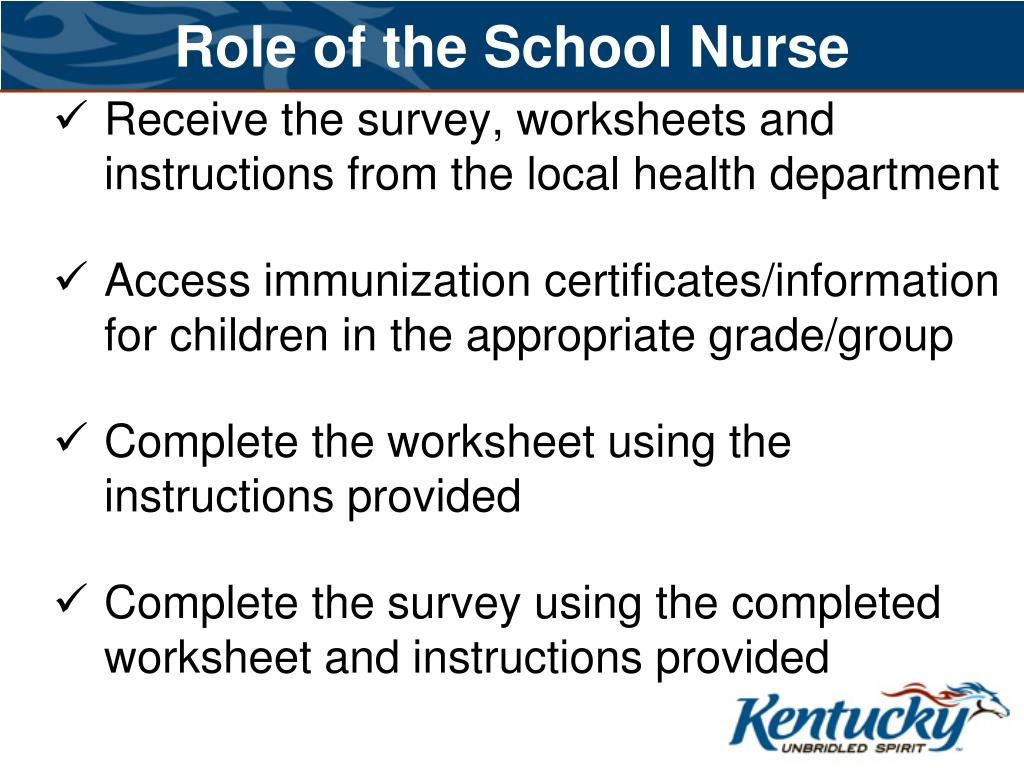Role of the School Nurse