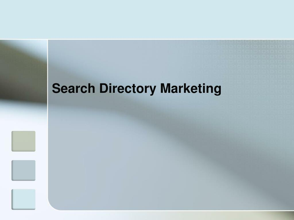 Search Directory Marketing